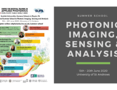 CDT International Summer School in Photonic Imaging, Sensing and Analysing