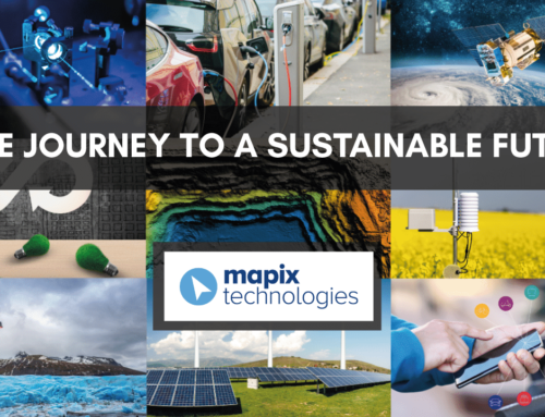 The journey to a sustainable future…with Mapix technologies