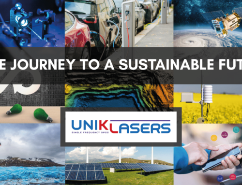 The journey to a sustainable future…with UniKLasers